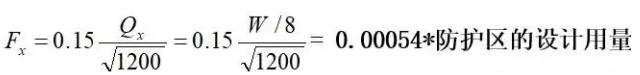 泄壓口的計算公式