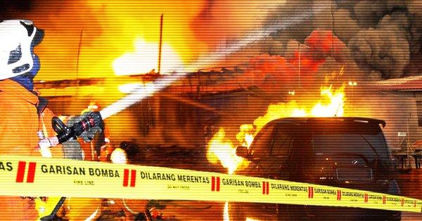 马来西亚吉隆坡一所学校发生火灾
