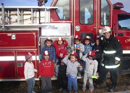 美国儿童消防安全教育