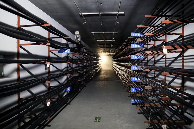 综合管廊防火试验平台