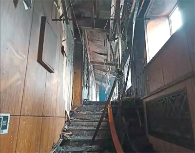 哈尔滨酒店火灾致20人死亡