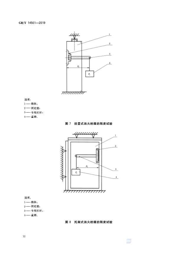 GB/T 14561-2019 《消火栓箱》
